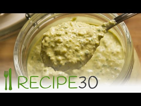 How to make perfect and easy tartar sauce recipe - By Recipe30