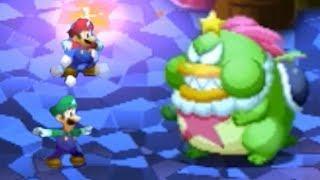 Mario Luigi Superstar Saga Bowser S Minions Walkthrough