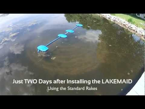 LAKEMAID - Automatic Lake Weed and Silt Removal