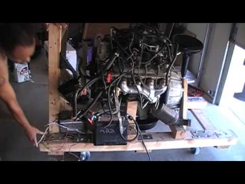Wood Engine Test Stand Part 21 LS1 Engine Mount