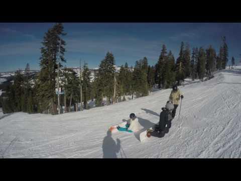 Ski trip to Sugarbowl Tahoe 2015/2016 - 4K videos 1-6
