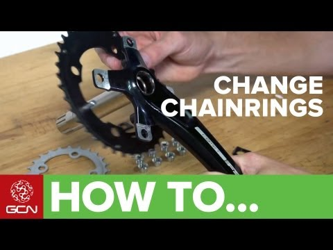 How To Change Chainrings - Changing Your Chain Rings For Road Or Mountain Bikes