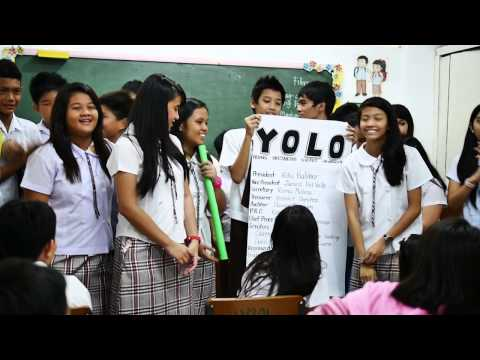 St. Francis Cainta Student Council Room to Room Campaign