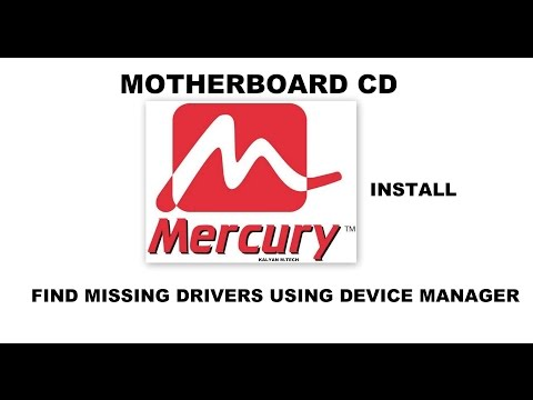 check Missing drivers/Install Motherboard  MERCURY Tutorial Excellent, Telugu Tutorial