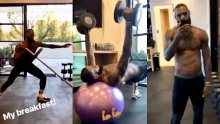 """Lebron James """"Trains Harder Than After Signing With LA Lakers"""""""