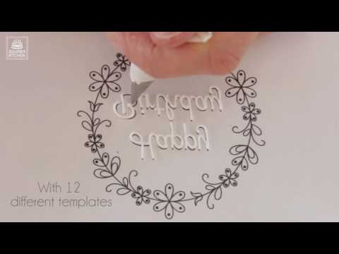 Bellissimo Pipe & Press - Squire Kitchen Royal Icing