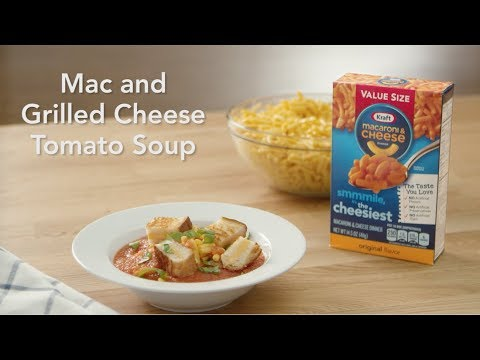 Mac and Grilled Cheese Tomato Soup