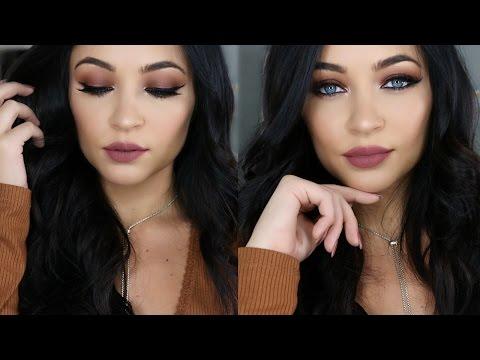 MATTE Fall Makeup Tutorial | Stephanie Ledda