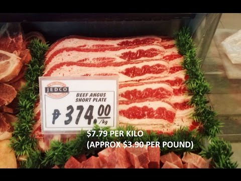 Actual Grocery Prices in the Philippines