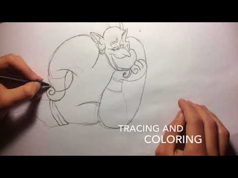 Drawing the Genie
