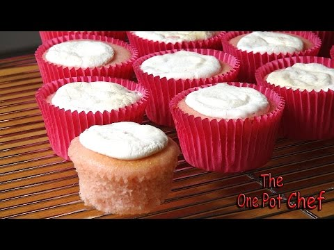 2 Ingredient Soda Cupcakes | One Pot Chef