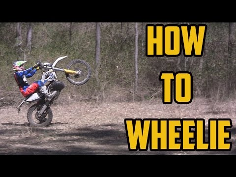 Learn How to wheelie a dirt bike in under 2 Minutes!