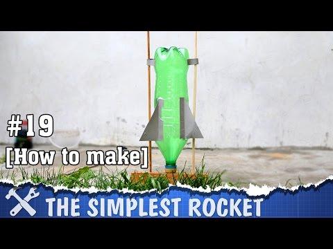 The simplest DIY rocket ever!