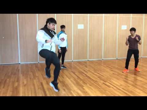 Taekwondo drill - Jump Snap Kick
