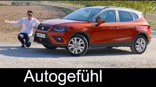 Seat Arona FULL REVIEW Style & Xcellence 1.0 vs FR 1.5 comparison - Autogefühl