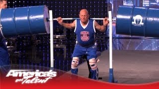 Omega Force Display Their World Record Strength - America