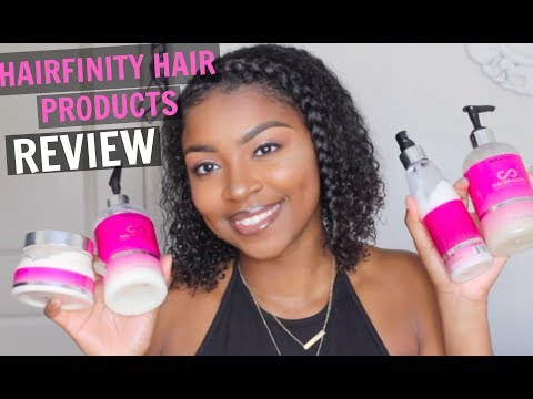 HAIRFINITY HAIR CARE PRODUCTS REVIEW | Natural African American Hair