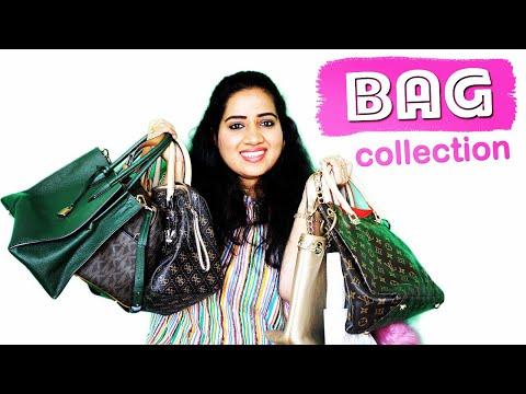 MY BAG COLLECTION 2018 👛👝👜🎒💼    Happy Pink Studio