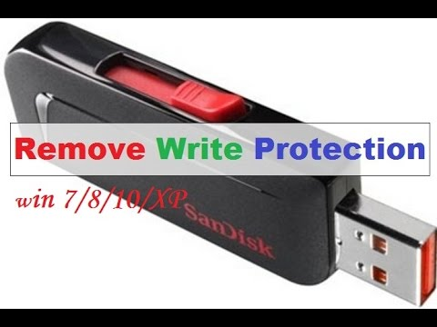 How To Format Write Protected Usb Flash Drive (2016) win 7/8/XP