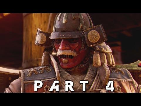 FOR HONOR Walkthrough Gameplay Part 4 - Samurai Fujikiyo (Viking Campaign)