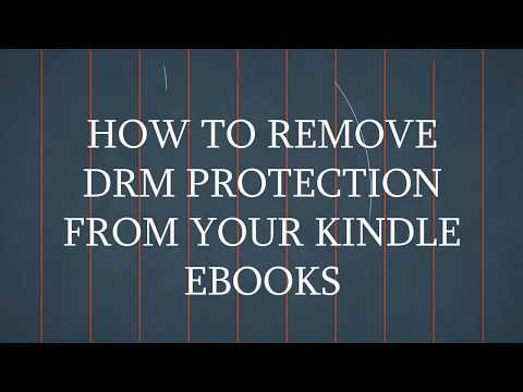 How To Remove DRM Protection From Amazon Ebooks (AZW Files)