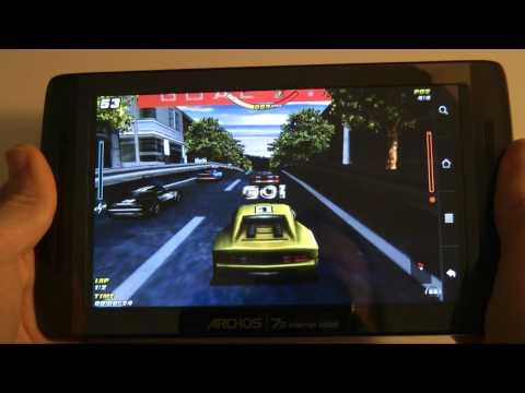 Archos 70 Internet Tablet Gaming & Android Market