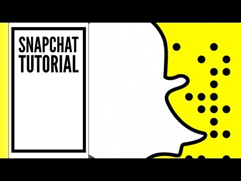 How does SNAPCHAT Work Tutorial for Beginners 2018