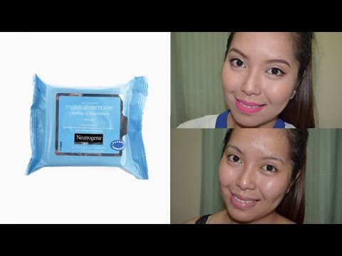 Neutrogena Makeup Remover Wipes (DOES IT WORK?!) - saytiocoartillero