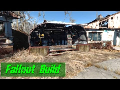 Perfect Robot Workbench Building (Fallout 4 Build)