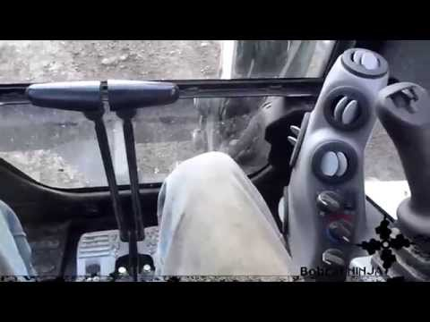 Mini-Excavator Controls Run Through
