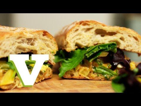Coronation Chicken Baguette: Retronomy