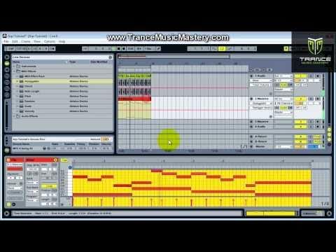 How To Make Trance Arpeggios Using The Ableton Live Arpeggiator Plugin