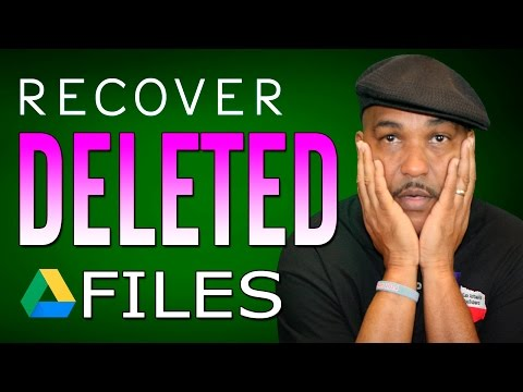 How to Find or Recover Deleted Files in Google Drive