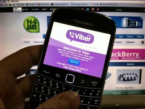 instalar viber en blacberry 9360