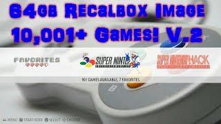 64GB RECALBOX Retro Gaming IMAGE 500+ GAMES & KODI - DrewTalks