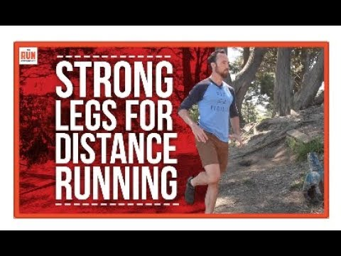 Strength Training for Distance Runners | 3 Exercises for Strong Legs
