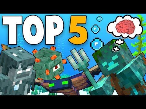 Top 5 Smartest Mobs In Minecraft