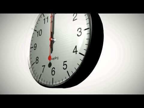 Sapling Clock System Guide - Arabic
