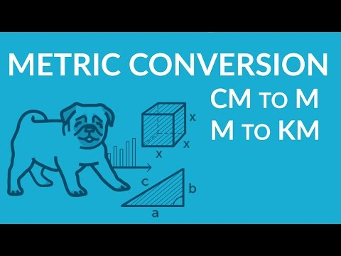 ʕ•ᴥ•ʔ  Metric Units Conversion Basics: cm to m, m to km, and simplify