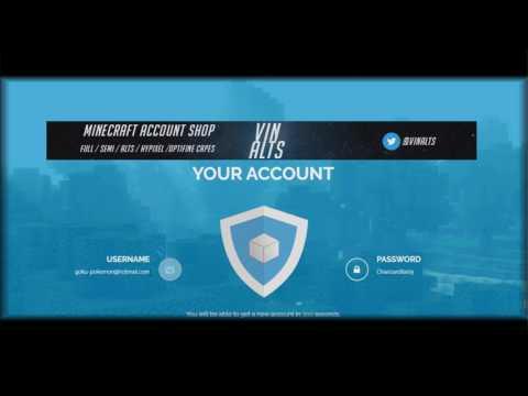 How To Get Free Minecraft Account Premium