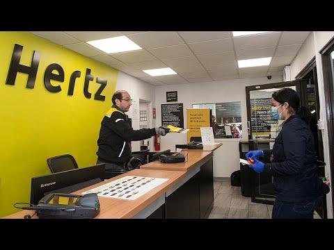 Opfer der Corana-Krise: Hertz meldet Insolvenz an