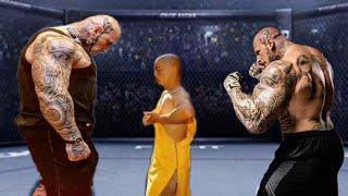 क्यों शाओलिन मोंक को नही हरा सके ये दोनों हलक || Hard Training of Shaolin Monks.