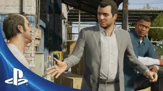 Grand Theft Auto V | Official Gameplay Video (PS3)