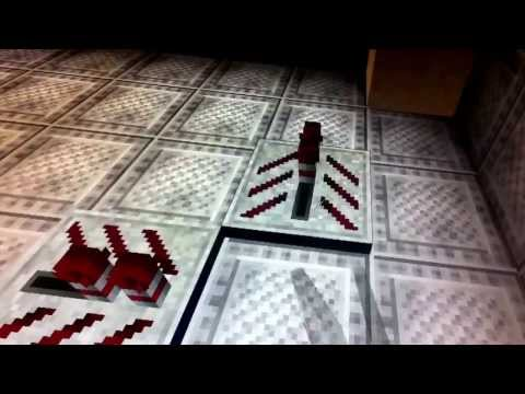 Tardis console piston redstone tutorial