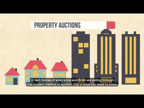 Sell Your Home Through the Modern Method of Auction