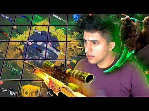 BRASILEIRO com INVENTÁRIO MAIS CARO do MUNDO (+R$1.000.000) | CS:GO
