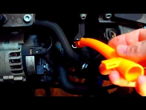 How to Change the Oil Dipstick Tube on a Volkswagen Jetta, Golf, Beetle, Passat