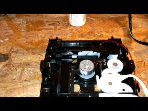 how to fix dvd player that makes noise