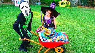 SAMI Pretend Play Halloween Trick or Treat Candy Park
