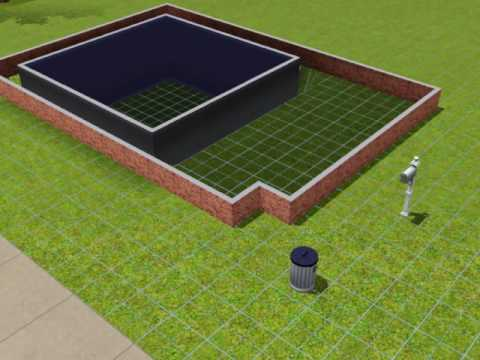 The Sims 3 house with basement